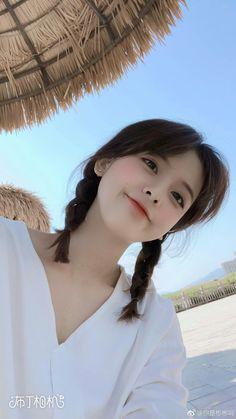 ➻Lấץ_F๏ll๏ฬ❤Mє❤☓ Ulzzang Hair, Ulzzang Korean Girl, Cute Korean Girl, Cute Asian Girls, Beautiful Asian Girls, Cute Girls, Korean Beauty, Asian Beauty, School Make Up