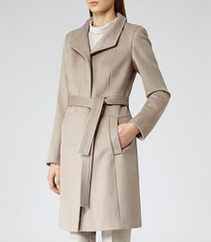 Reiss Evia Belted Coat