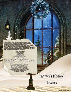 Winter's Magick Incense
