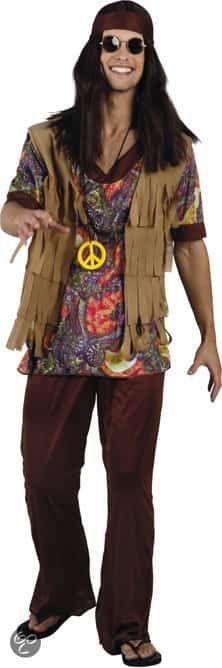 Comprar Disfraz adulto Hippie Super Porreta talla M. Viva el amor y la paz al más estilo Flower Power. Este disfraz es ideal para temática Hippie. Este disfraz y muchos más te esperan en disfracestuyyo.com. No te olvides de completar tu disfraz con el collar de la paz, gafas, pelucas hippies etc. ¿Que opinas de este disfraz de hippie?