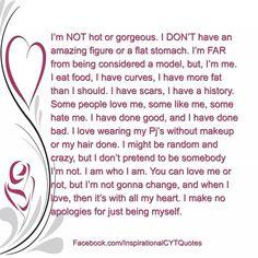 Description of me