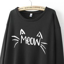 Like and Share if you want this  2016 S-XL Fashion Autumn Women Long Sleeve Round Neck Pullovers MEOW Hoodies Sweatshirts Casual Loose O-Neck Tops Tracksuit Bts     Tag a friend who would love this! For US $8.78    FREE Shipping Worldwide     Get it here ---> http://womensclothingdeals.com/products/2016-s-xl-fashion-autumn-women-long-sleeve-round-neck-pullovers-meow-hoodies-sweatshirts-casual-loose-o-neck-tops-tracksuit-bts/