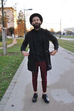 dsdany:  Alkarus wearing: Jacket Sandro Trousers Paul...