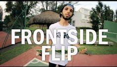 Como mandar Frontside flip - Clube do skate