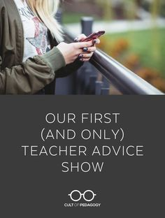 In this episode, I answer questions from an earth science teacher who wants to make his material more challenging for advanced students, a student who needs to organize her bookmarks, and a teacher whose co-worker embarrasses kids right in front of her. Teaching Schools, Student Learning, Science Student, Teacher Hacks, My Teacher, Teacher Stuff, Classroom Observation, Teacher Comments, Cult Of Pedagogy