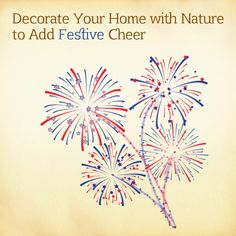 Want to decorate your home with natural elements? Add a sense of cheer with these simple ideas. http://renaissanceholdings.com/blog/decorate-your-home-with-nature-to-add-festive-cheer/