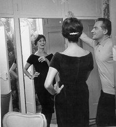 Sophia Loren and Rossano Brazzi