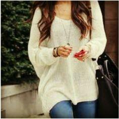 sweater cute loose fitting tunic white black grey maroon burgundy tan lightweight tank top