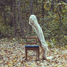 """This is the work of Christopher McKenney, a conceptual artist from Pennsylvania. He calls his photography style """"horror surrealist""""."""