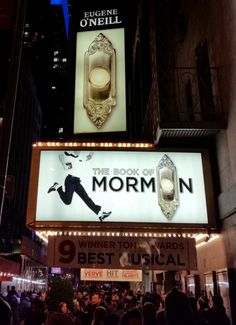 """""""The Book of Mormon"""" Have they written it on golden plates? Only the creators (South Park + Avenue Q) know for sure. Starring Nic Rouleau, Ben Platt, Nikki Renée Daniels, Grey Henson and Daniel Breaker. Eugene O'neill, Musical Theatre Broadway, Ben Platt, Book Of Mormon, Dear Evan Hansen, Park Avenue, South Park, Ruin, Saga"""
