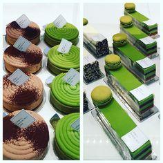 Gâteaux au matcha Sadaharu AOKI Paris