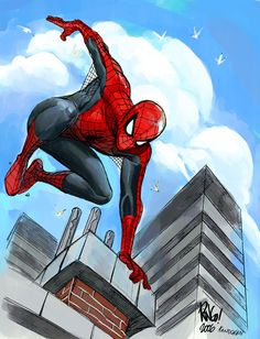 Image detail for -Comics Forever, Spider-Man // artwork by Mike Wieringo and Steven...