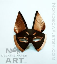 As a mask maker I always appreciate good handmade masks and you just can't beat the classic ancient Egyptian aesthetic.
