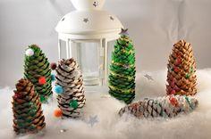Last Minute DIY Weihnachtsdeko und Karten