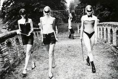 """artnau on Twitter: """"Revenge, 2003 by Ellen von Unwerth… """" Ellen Von Unwerth, Evan Rachel Wood, Laura Lee, Erotic Photography, Fashion Photography, Photography Women, Brave, Jeanloup Sieff, Simone De Beauvoir"""