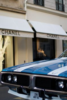 chanel and charger