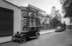 Foto de una de las calles del barrio de Polanco, tomada a finales de los años 20's.