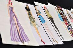 Ilustración de moda by Michelle Ochoa, via Behance