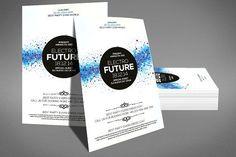 Best Get Minimal - Flyer  CreativeWork247 - Fonts, Graphics, Themes, Templa...