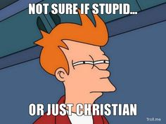 "Click to read ""Are Christians Stupid?"" by J. M. Green - from the Debunking Christianity blog."