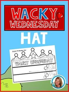 """Want something cute to help you class celebrate Wacky Wednesday in your classroom? This is an engaging simple activity to motivate your students to feel a little """"wacky"""". Make sure when they are at lunch, my turn the classroom into a Wacky Room by turning chairs and the clock upside down, put socks in the tissue box and hand a shoe from the ceiling. Dr Seuss Activities, Sorting Activities, Book Activities, Rhyming Games, Rhyming Words, Dr Seuss Week, Dr Suess, Dr Seuss Crafts, Beginning Of Kindergarten"""