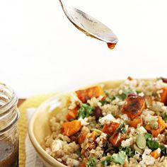 Roasted Butternut Squash & Quinoa Salad with Maple Vinaigrette ...