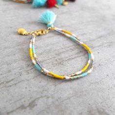 Le produit Bracelet ★ Bohème double ★ doré est vendu par My-French-Touch dans notre boutique Tictail.  Tictail vous permet de créer gratuitement en ligne une boutique de toute beauté sur tictail.com