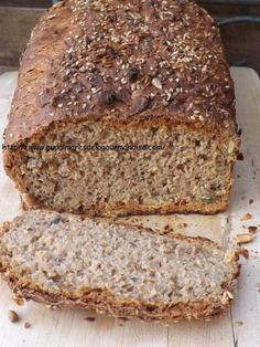 Spelled bread integral IG Bas * Healthy * Hygge * Comfort Food * Without dairy products - On the list of gourmet delicacies - Bread Recipes Healthy Food Alternatives, Healthy Bread Recipes, Vegan Dessert Recipes, Baking Recipes, Baguette, Spelt Bread, Rye Bread, Cooking Bread, Diabetic Desserts