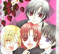 Gakuen Alice - Natsume, Ruca (Luca), Hotaru and Mikan ^^