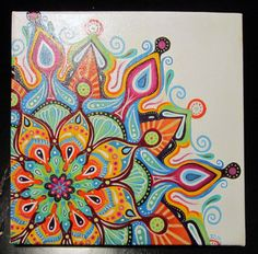 ORIGINAL ARTWORK Adrian Mandala by tuffjulz on Etsy