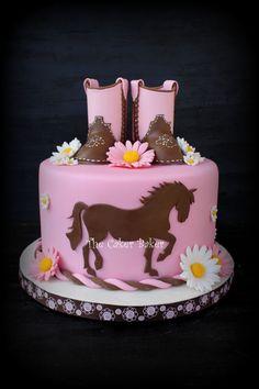Inspired Image of Cowgirl Birthday Cake . Cowgirl Birthday Cake Ohne Stiefel Pferde Torten In 20