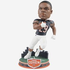 Chicago Football, Chicago Bears, Soldier Field, Action Poses, Bobble Head, Skyline, City, Pretty, Fans