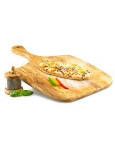 Pizzabrett aus Olivenholz | treevoli