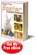 """Hop into 7 Free Easter Crochet Patterns"" | AllFreeCrochet.com"