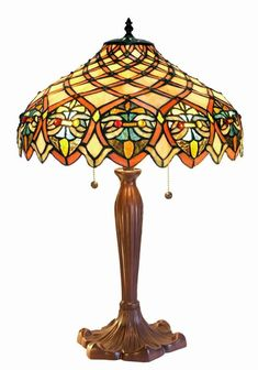 Tiffany style table lamps for living room stained glass lamp shade warehouse of tiffany tiffany style ariel shade table lamp multi mozeypictures Image collections