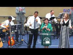 Hna. María Luisa Piraquive, Himno: El aposento alto - YouTube
