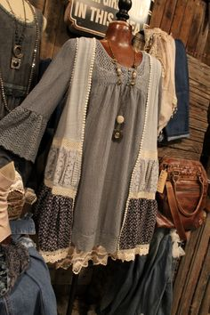 Country Nights Dusty Blue Vest