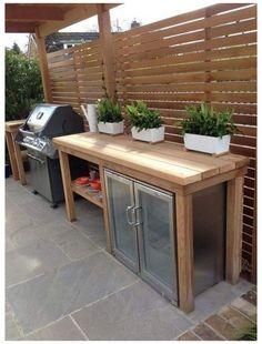 Outdoor Kitchen Plans, Outdoor Kitchen Design, Outdoor Cooking, Patio Kitchen, Rustic Outdoor Kitchens, Rustic Kitchen, Country Kitchen, Diy Kitchen, Outdoor Spaces