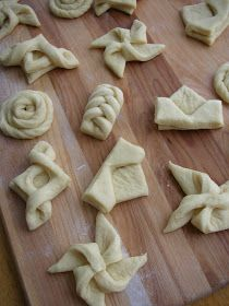 Danish Pastry Dough and Shapes