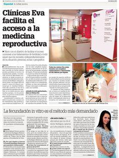 Clínicas EVA en el Diario Información, 20/10/13