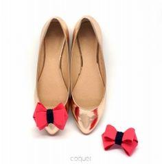 Najpiękniejsze klipsy do butów! Malinowe Kokardki 3D Autumn Pastels P&N Kupuj tu: http://sklep.coquet-art.pl/kokardki-3d-autumn-pastels-p-n.html