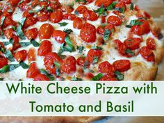 Our favorite recipe : Home made chicken basil pizza! (The kids make it
