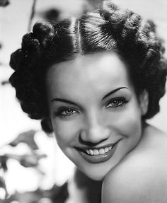 Carmen Miranda - I heart this hairstyle on her. love the classic past..ppl were so classy.
