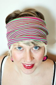 Yoga headband. Dreadlocks accessory. Bright by MapleAndOakDesigns, $20.00