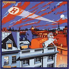 Super H - Minuit au Faubourg Hermes Scarf - It's All Goode