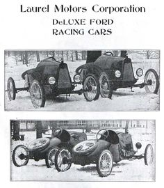 1920 Laurel Motor Corp's  Ford based racing cars