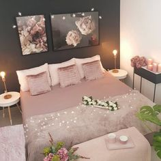 Best 27 Room Decor Bedroom Design Ideas For Your Inspiration Rose Gold And Grey Bedroom, Room Decor Bedroom Rose Gold, Room Ideas Bedroom, Home Decor Bedroom, Pink Home Decor, Bridal Room Decor, Deco Rose, Stylish Bedroom, Luxurious Bedrooms