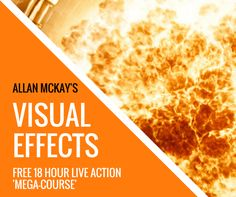December 2016 - Allan McKay just released a brand new LIVE ACTION visual effects training series, with over 18 hours of high-end video training. Check it out at www.allanmckay.com/challenge/ where you can also get the scene files, HDRI, HD footage and everything else!