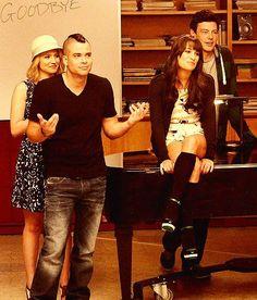 Quinn, Puck, Rachel & Finn