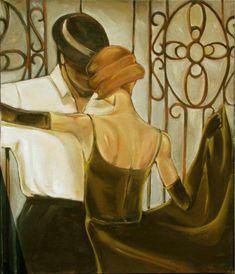 Trish Biddle ~ Art Déco painter | Tutt'Art@ | Pittura * Scultura * Poesia * Musica |